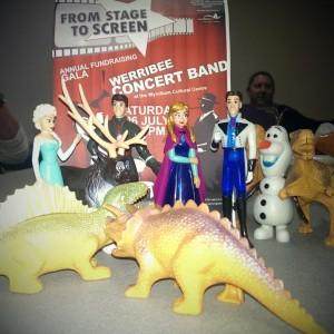 Jurassic Park v's Frozen