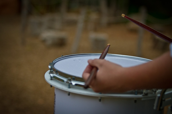 Drummers are musicians too!
