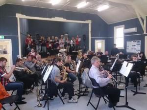 Christmas Rehearsal 2013